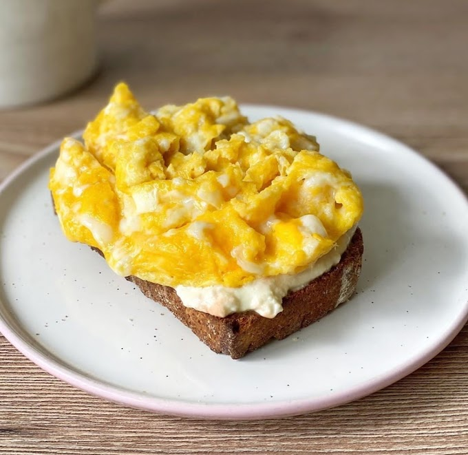 Ricotta Egg Toast Recipe | Breakfast Care