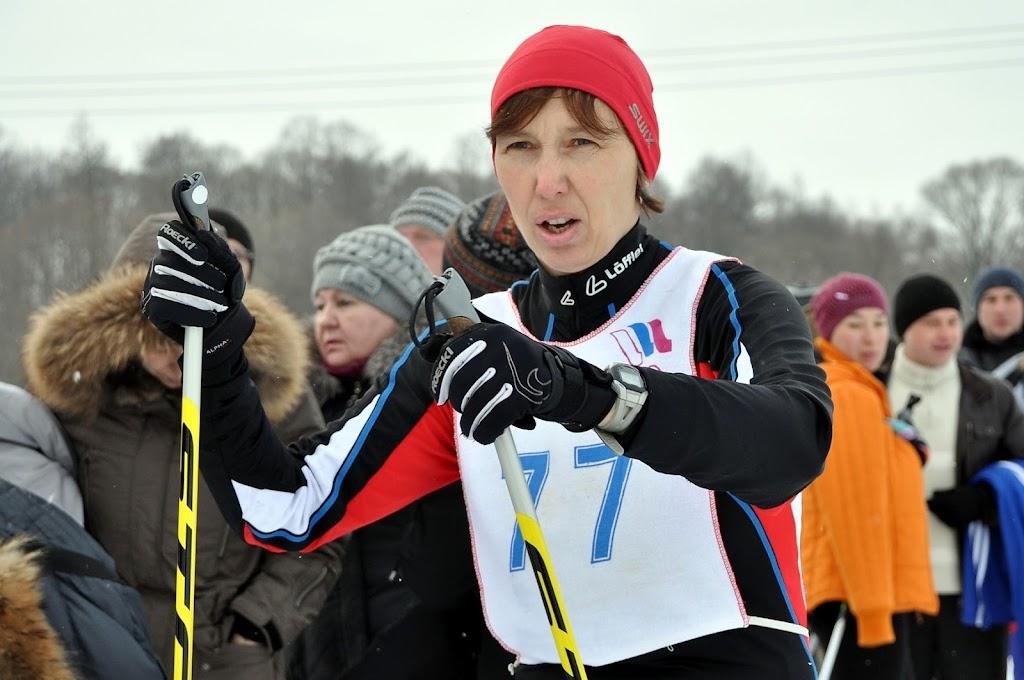 И.Кузнецова - 1 место в лыжной гонке в категории от 35 и старше