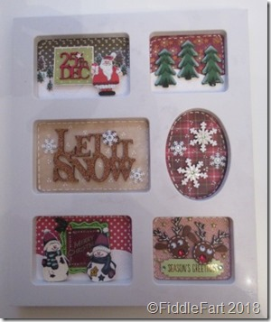 Christmas Sampler Photo FRame