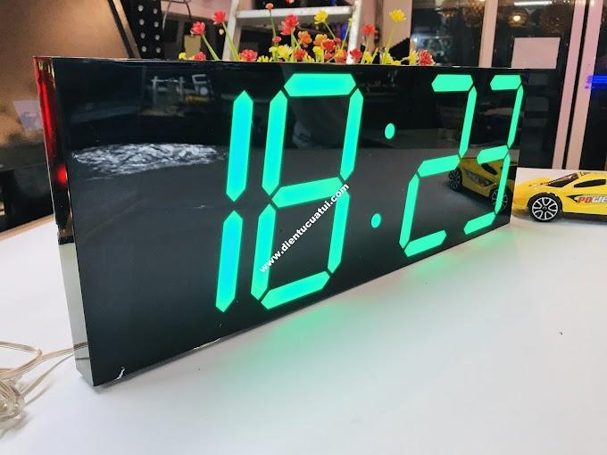 ĐỒNG HỒ TREO TƯỜNG LED 3D
