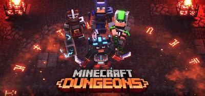 Minecraft Dungeons agora tem suporte há cross-play