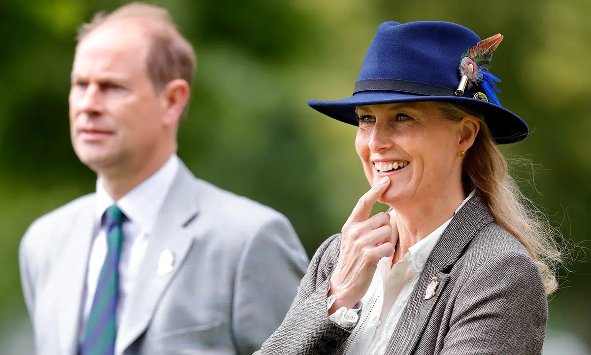The Countess of Wessex reveals Prince Edward's skill and it'd come in Handy at Balmoral
