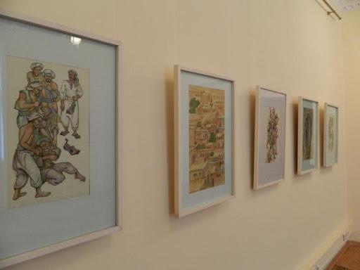 Виставка графічних ілюстрацій Івана Крислача