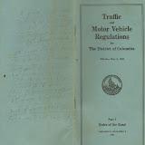 1931 District of Columbia Traffic Regulations