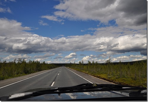 9 route vers Mourmansk
