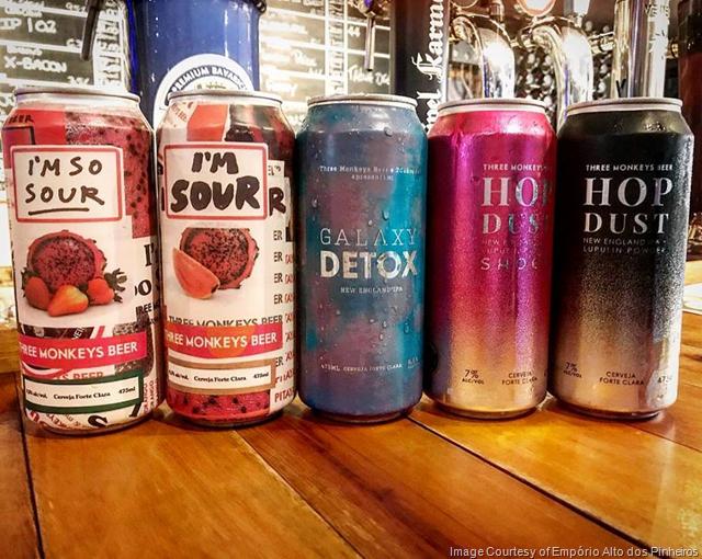 Three Monkeys Brewery Adding 5 New Cans