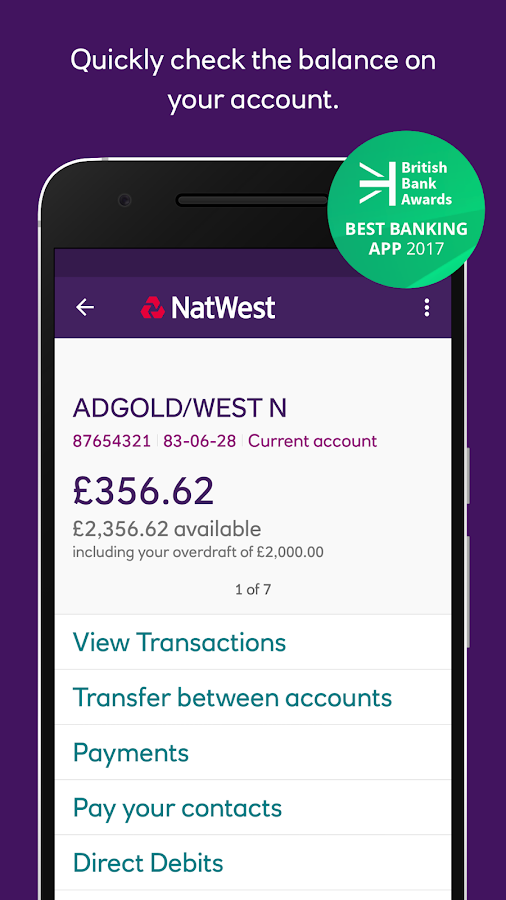 Natwest Personal Bank