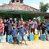 Cegah Covid-19 Pemdes Sido Rahayu Bersama wargaLakukan  pemyeperotan Disinfektran