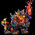Dragón Magus Fogata   Pyre Magi Dragon