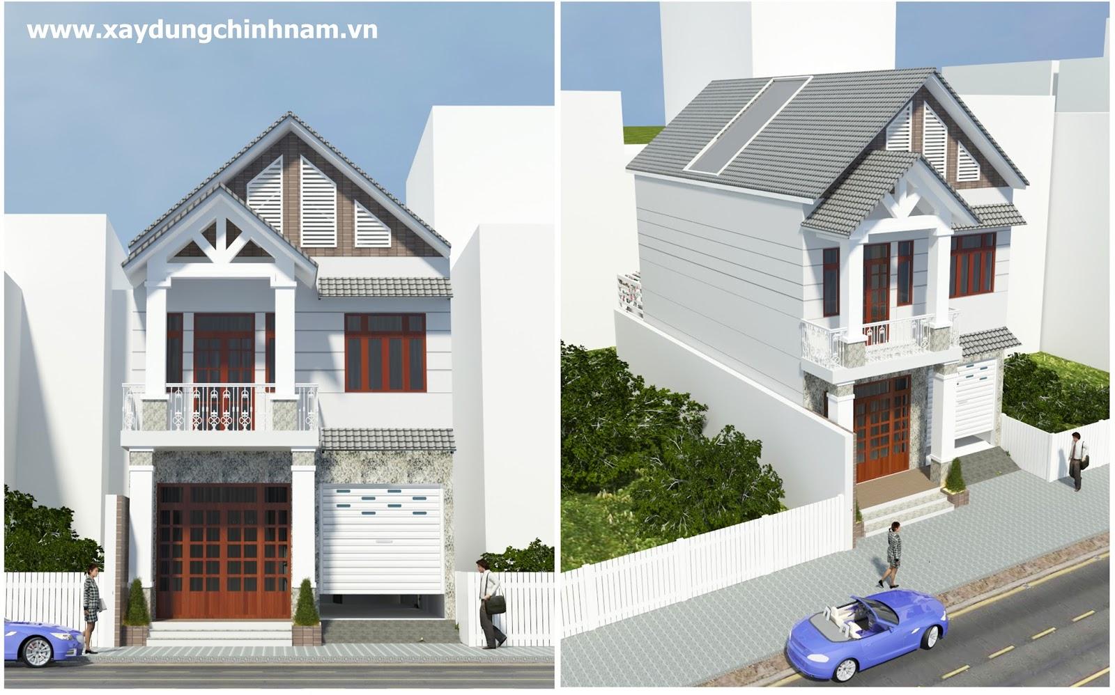 Thiết kế nhà anh Toàn ở Biên Hoà - Đồng Nai