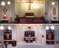 Before and After: Blessed Sacrament in Lawton, Oklahoma