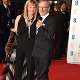 OIC - ENTSIMAGES.COM - Steven Spielberg and Kate Capshaw at the  EE British Academy Film Awards 2016 Royal Opera House, Covent Garden, London 14th February 2016 (BAFTAs)Photo Mobis Photos/OIC 0203 174 1069