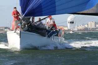 J133 sailing South Africa