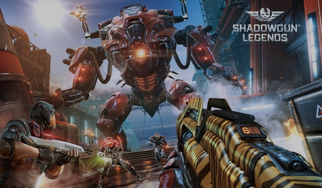 Shadowgun Legends. Del 1 (Introduktion).