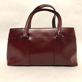 Furla Oxblood Handbag
