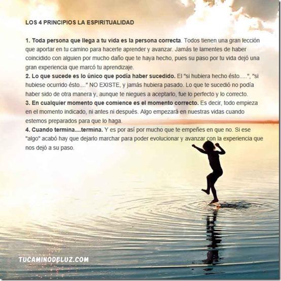 4 principios espiritualidad