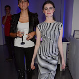 WWW.ENTSIMAGES.COM -  Rose Merry Lloyd and Kinga Kurek  post cat walk at        Stella McCartney Foundation Event at Louise Blouin Building 3 Olaf Street London September 24th 2013                                             Photo Mobis Photos/OIC 0203 174 1069