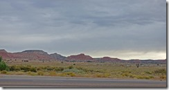 Outside Gallup New Mexico