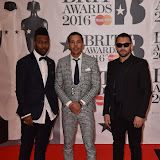 OIC - ENTSIMAGES.COM - Disciples  at the  The BRIT Awards 2016 (BRITs) in London 24th February 2016.  Raymond Weil's  Official Watch and  Timing Partner for the BRIT Awards. Photo Mobis Photos/OIC 0203 174 1069