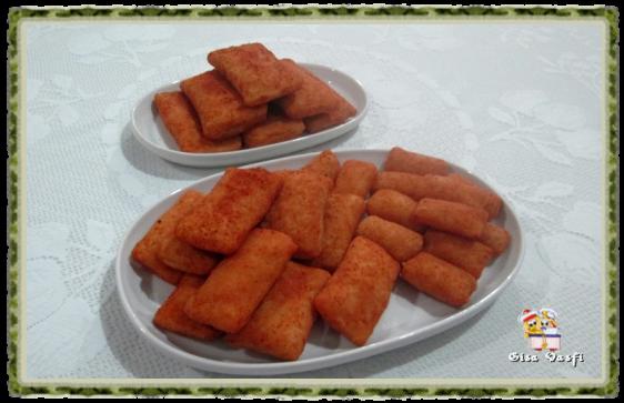 Rissoles de queijo e presunto 1