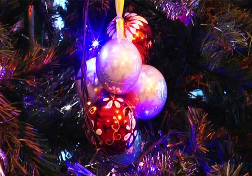 Bright Light Ornaments