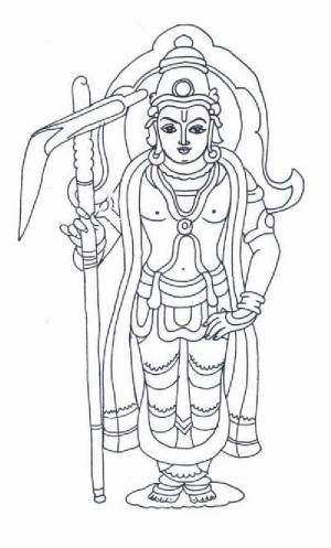 Lord Balarama, Gods And Goddesses 6