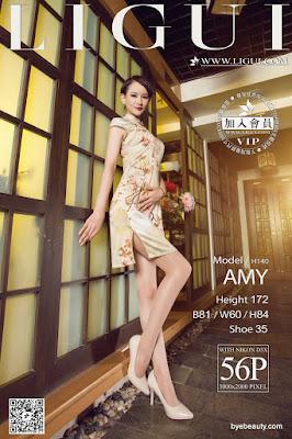 LiGui 2015.10.29 网络丽人 Model AMY [56P]