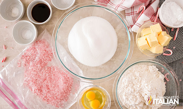 crinkle cookie ingredients