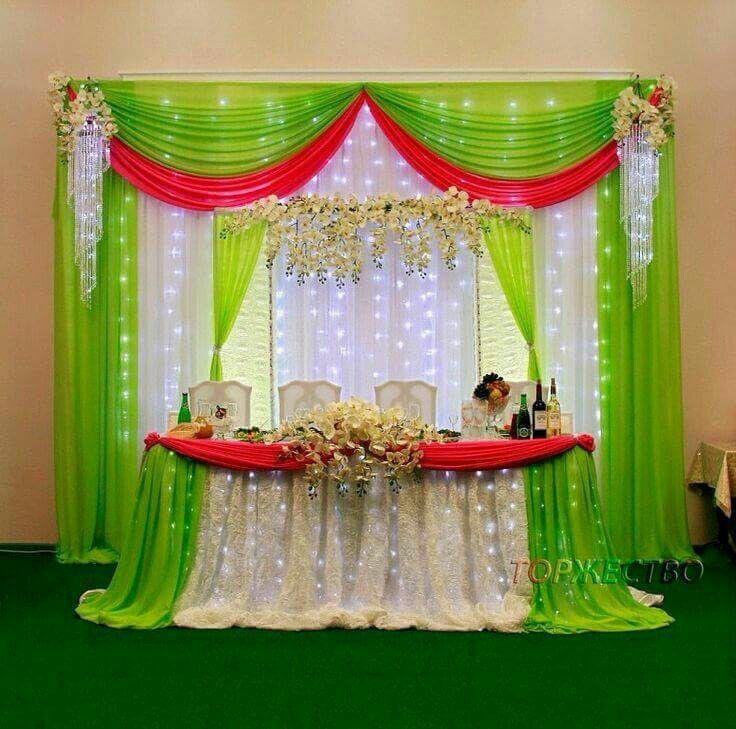 Usa cortinas de tela para decorar tu fiesta - Telas para decorar ...
