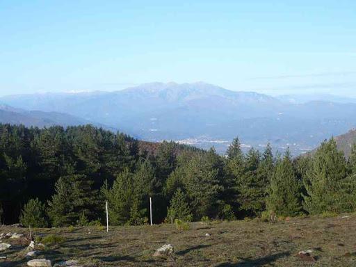 Vue vers les Pyrénées