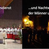 Gründonnerstag und Nachtwanderung der Männer 13.04.2017