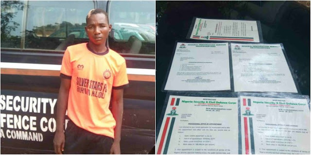 School Dropout Arrested For Selling Fake Employment Letters In Jigawa