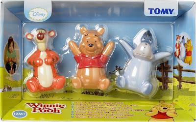 Bộ 3 con thú Gấu Pooh, Tiger và Eyeore