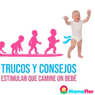 Como estimular al bebé para que camine – Trucos y Ejercicios