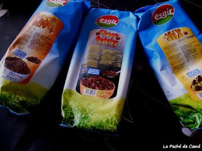 Esgir. Cereales y snacks aptos para celiacos
