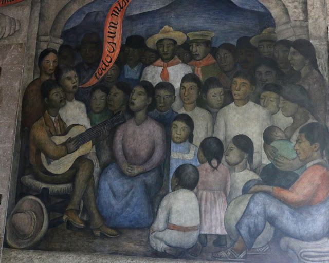 Mexico City Ambles Mexican Revolution And Mexican Muralists Part