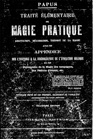 Cover of Papus's Book Traite Elementaire de Magie Pratique (1895,in French)