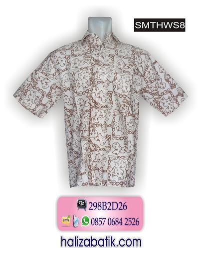 SMTHWS8 Baju Kerja Batik, Jual Baju Batik, Baju Online Murah, SMTHWS8