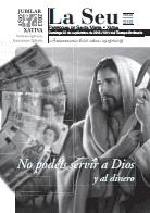 Hoja Parroquial Nº518 - No podéis servir a Dios  y al dinero. Iglesia Colegial Basílica de Santa María de Xàtiva - Sexto aniversario de la erección de la colegiata.