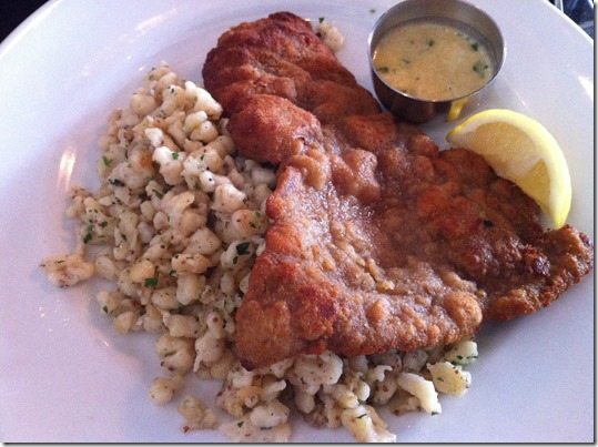 Dinner at La Brasserie 7