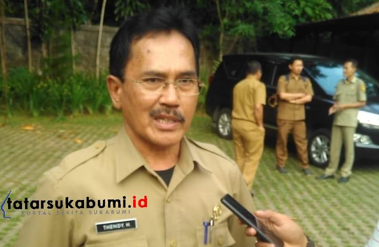 Kepala Dinas Pemberdayaan Masyarakat dan Desa (DPMD) Kabupaten Sukabumi, Tendy Hendrayana