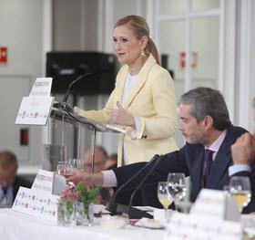 Cristina Cifuentes hace balance de sus primeros 100 días de gobierno