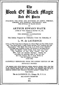 Cover of Arthur Edward Waite's Book The Book of Black Magic and of Pacts (1910)