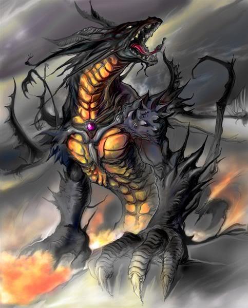Dragon And Air, Dragons