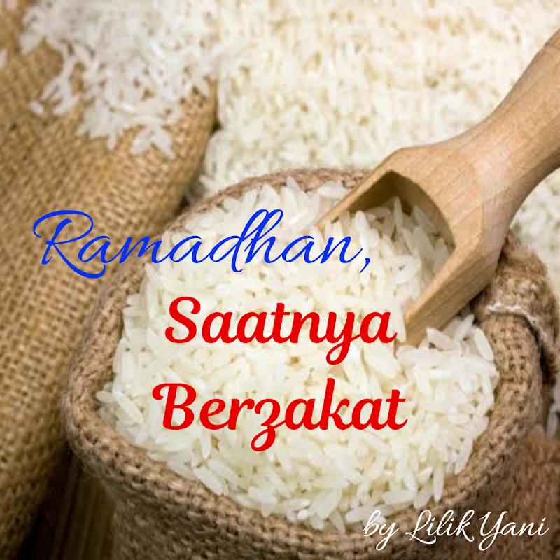 Ramadhan, Saatnya Berzakat