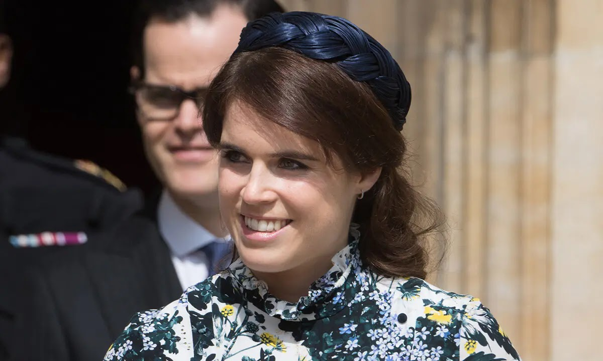 Princess Eugenie Looks Stylish in Signature Florals