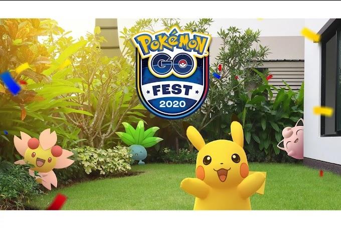 Pokémon Go Fest 2020 Edisi Santai Dirumah