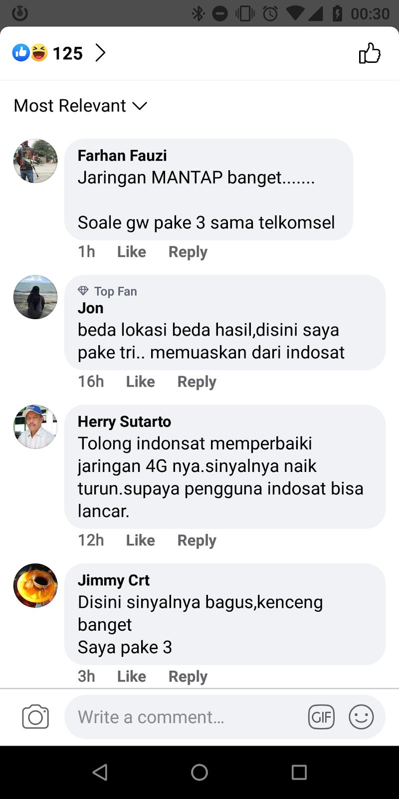 Komentar Netizen di Iklan IDN Times Terkait Promo Indosat