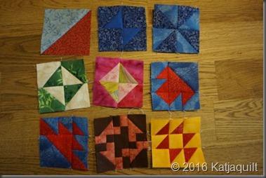 Quilt 365 - 19 bis 27 - klein