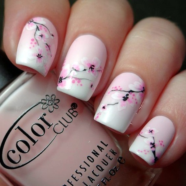 Latest Flower Nail Art Desgins Ideas In 2018 2
